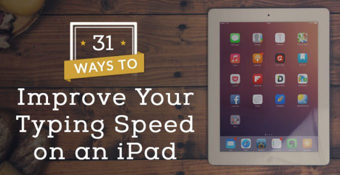 ipad fast typing tips
