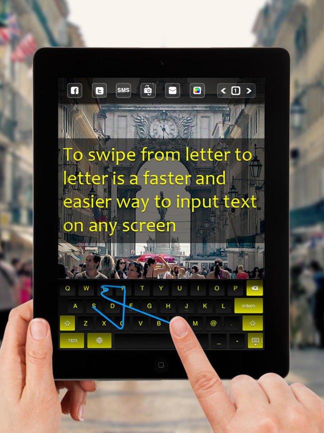 swipe-to-type