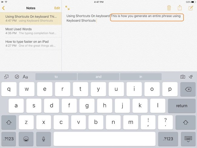 word-replacement-on-ipad
