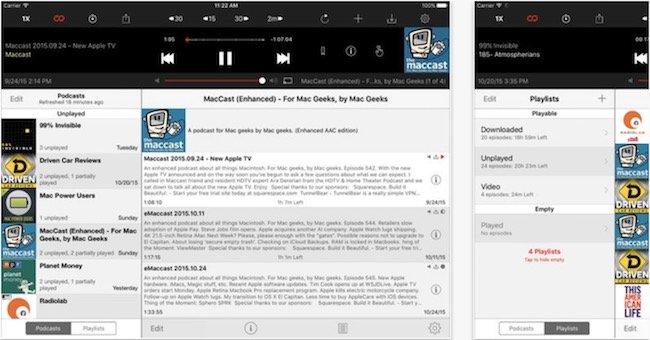 Downcast-for-iPad