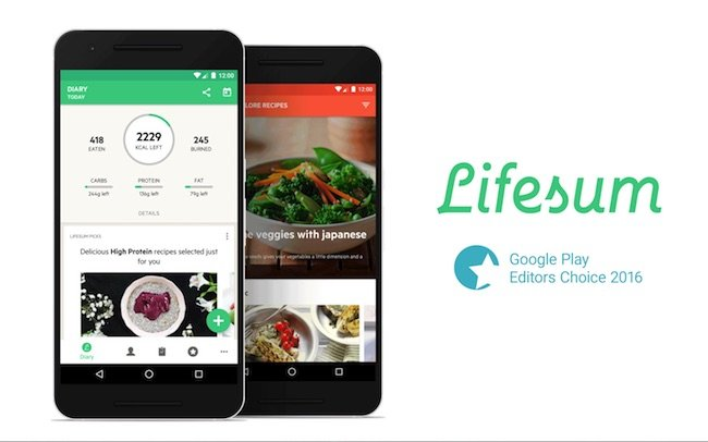 Lifesum-vs-myfitnesspal