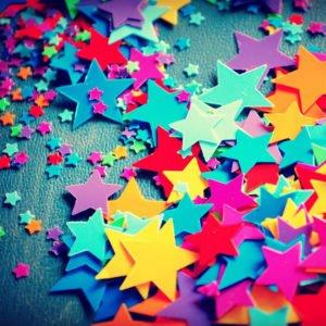 Colorful Stars Ipad Pro Wallpaper