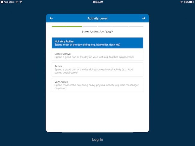 how to enter new start date my fitness pal