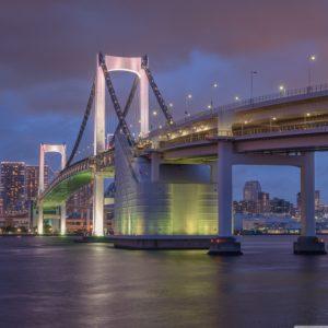 rainbow_bridge_tokyo-4k-wallpaper